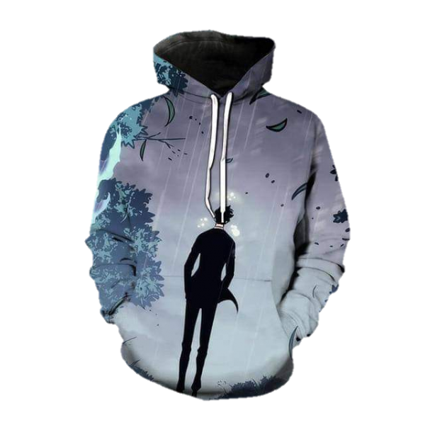 Solo Leveling Sung Jin-Woo Arise Hoodie XS Official Solo Leveling Merch