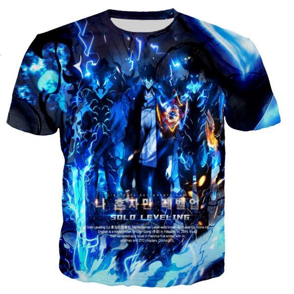 Solo Leveling Jin Woo x Beru x Igris T-Shirt XS Official Solo Leveling Merch