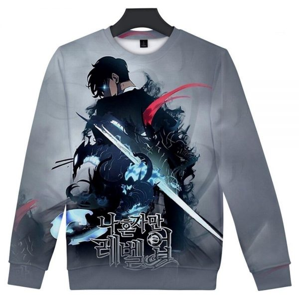Solo Leveling 3D Sweatshirts XS Official Solo Leveling Merch
