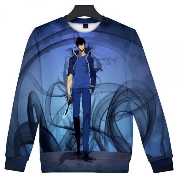 Solo Leveling 3D Sweatshirt XS Official Solo Leveling Merch