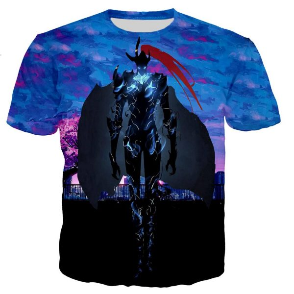 Solo Leveling Shadow Knight Igris T-Shirt XS Official Solo Leveling Merch