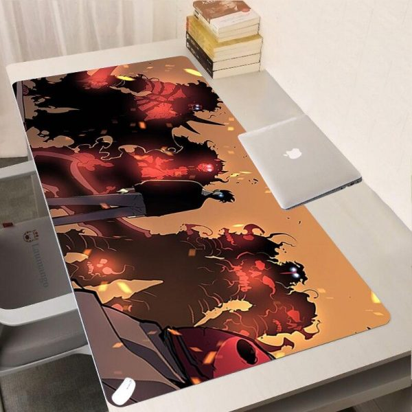 Solo Leveling Anime Large Gaming Mouse Pad 250 x 290 x 2mm Official Solo Leveling Merch