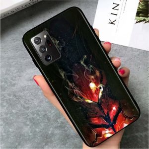 Solo Leveling Samsung Case Scarlet Igris Samsung S7 Official Solo Leveling Merch
