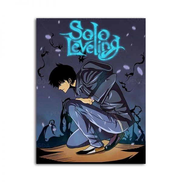 Webtoon Solo Leveling Poster 15 x 20 cm  No Frame Official Solo Leveling Merch