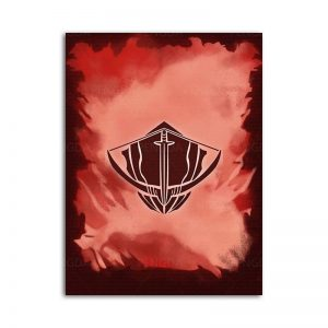 Solo Leveling Hunters Guild Logo Poster 15 x 20 cm  No Frame Official Solo Leveling Merch