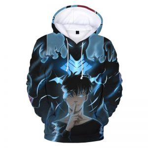 Solo Leveling Monarch Jin Woo x Igris Hoodie XS Official Solo Leveling Merch