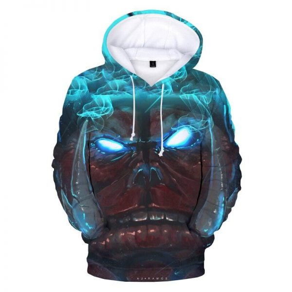 Solo Leveling Elite Knight Grade Tusk Hoodie XS Official Solo Leveling Merch