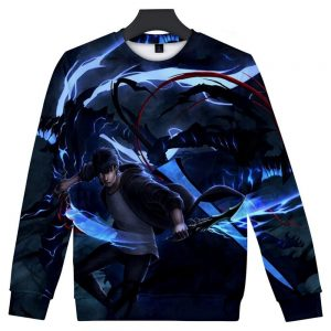 Solo Leveling 3D Print Sweatshirts XS Official Solo Leveling Merch