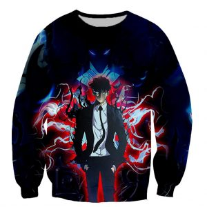 Solo Leveling Printed Long Sleeve Shirts XS Official Solo Leveling Merch