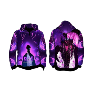 Solo Leveling Sung Jin Woo x Knight Igris Hoodie XS Official Solo Leveling Merch