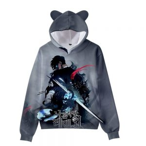Solo Leveling Sung Jin Woo Monarch Hoodie XS Official Solo Leveling Merch