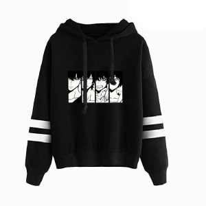 Solo Leveling Jin Woo Evolution Hoodie Black / XS Official Solo Leveling Merch