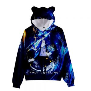 Solo Leveling Sung Jin-Woo Hoodie XS Official Solo Leveling Merch