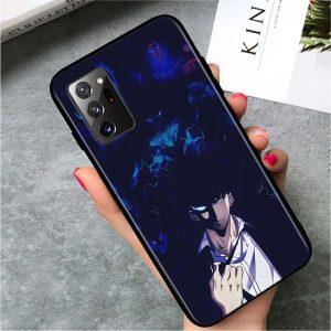 Solo Leveling Samsung Case Shadow Monarch Jin Woo Samsung S7 Official Solo Leveling Merch