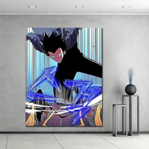 Solo Leveling Fan-Art Poster 15 x 20 cm  No Frame Official Solo Leveling Merch