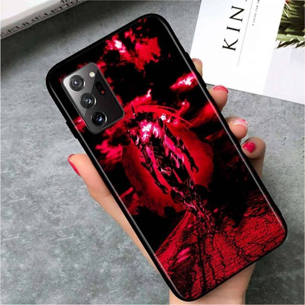 Solo Leveling Samsung Case Igris Rage Samsung S7 Official Solo Leveling Merch