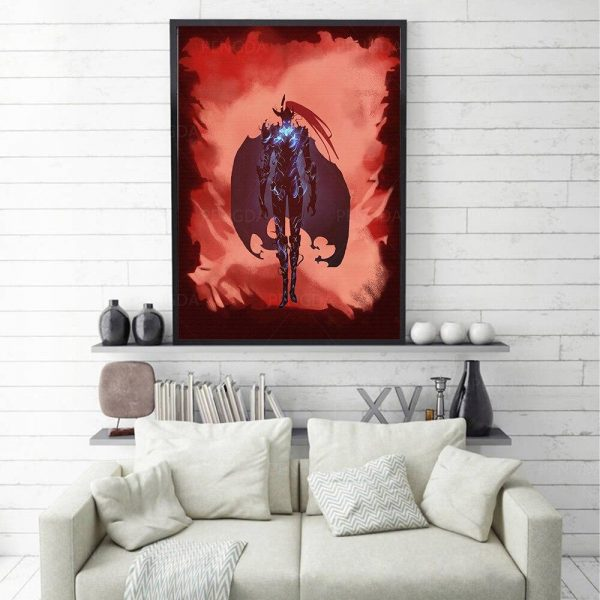 Solo Leveling Poster Igris Summon 15 x 20 cm  No Frame Official Solo Leveling Merch
