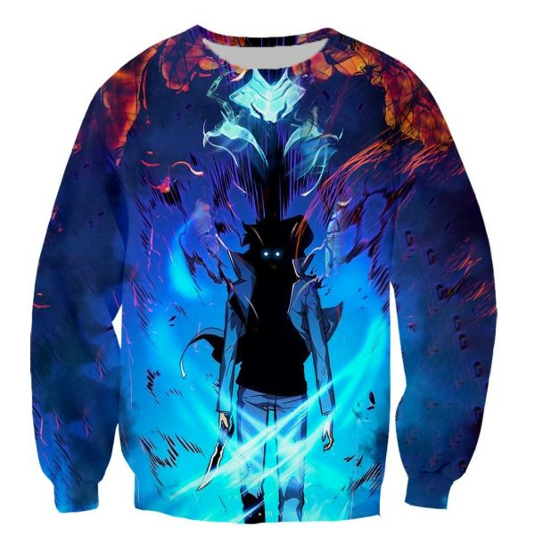 Solo Leveling Sweater with Print XS Official Solo Leveling Merch