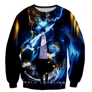 Solo Leveling Printed Sweater XS Official Solo Leveling Merch