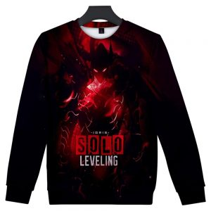 Solo Leveling 3D Sweatshirt Printing XS Official Solo Leveling Merch