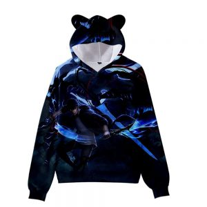 Solo Leveling Sung Jin Woo 3D Hoodie XS Official Solo Leveling Merch