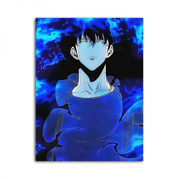 Solo Leveling Com Poster 15x20cm  No Frame Official Solo Leveling Merch