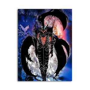Manhwa Solo Leveling Poster 15x20cm  No Frame Official Solo Leveling Merch