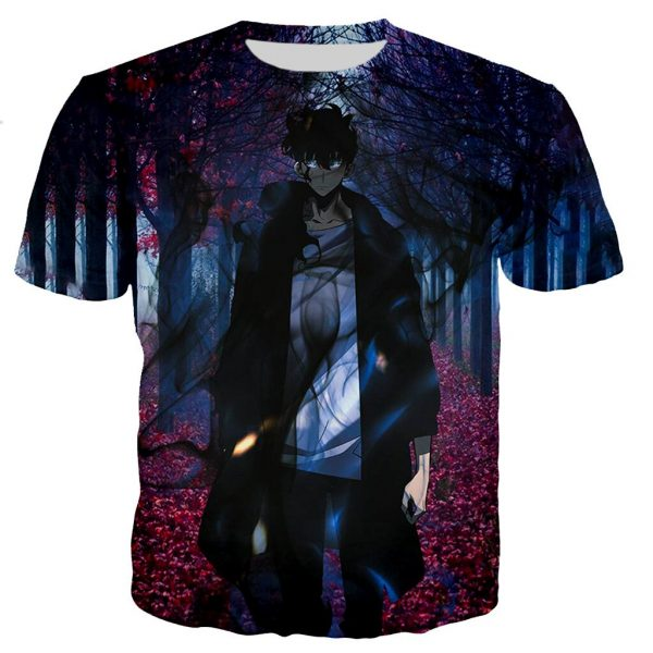 Solo Leveling Player Jin Woo T-Shirt XS Official Solo Leveling Merch