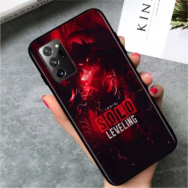 Guardian of The Throne Igris Samsung Case Samsung S7 Official Solo Leveling Merch