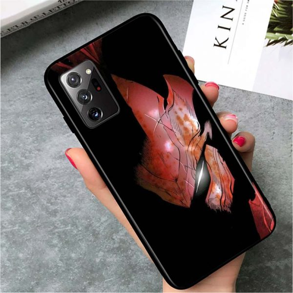 Solo Leveling Blood Red Igris Samsung Case Samsung S7 Official Solo Leveling Merch
