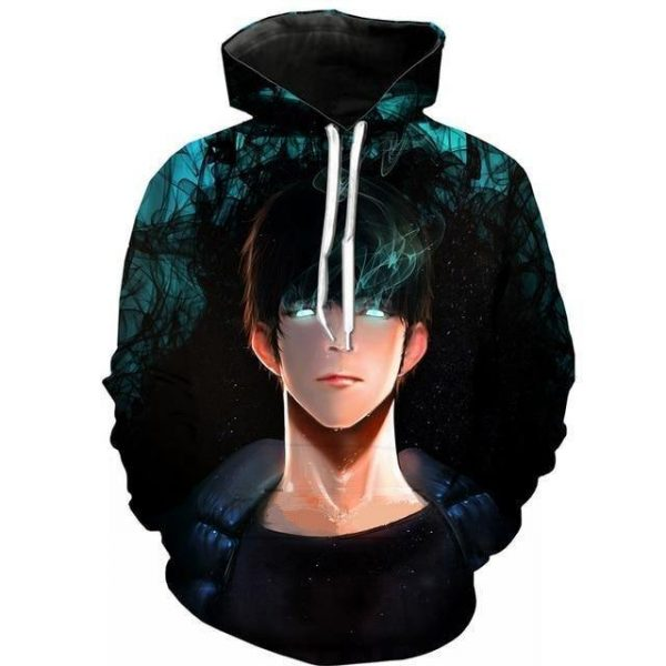 Solo Leveling Sung Jin Woo Hoodie S Official Solo Leveling Merch