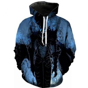 Solo Leveling Knight Igris Hoodie S Official Solo Leveling Merch