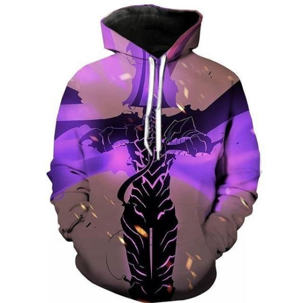 Solo Leveling Shadow Knight Igris Hoodie S Official Solo Leveling Merch