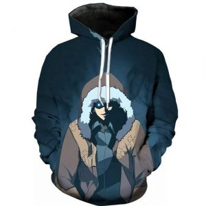 Solo Leveling Jin Woo Rage Hoodie S Official Solo Leveling Merch