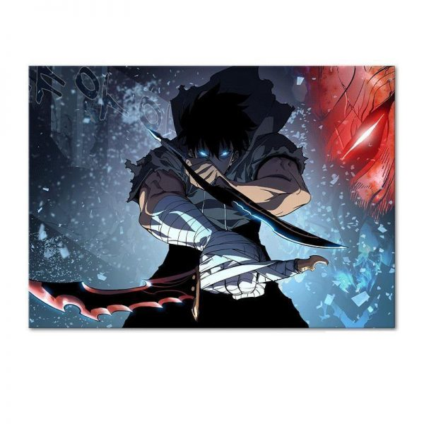 60x80 cm Official Solo Leveling Merch