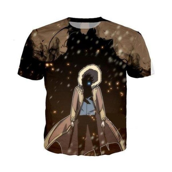 Solo Leveling Webtoon T Shirt XS Official Solo Leveling Merch