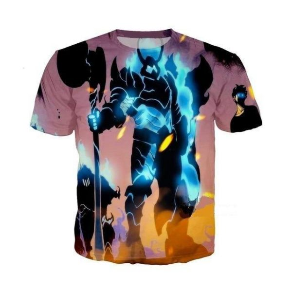 Solo Leveling Animation T Shirt XS Official Solo Leveling Merch