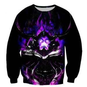 Solo Leveling Shadow Knight Iron Sweatshirt XS Official Solo Leveling Merch