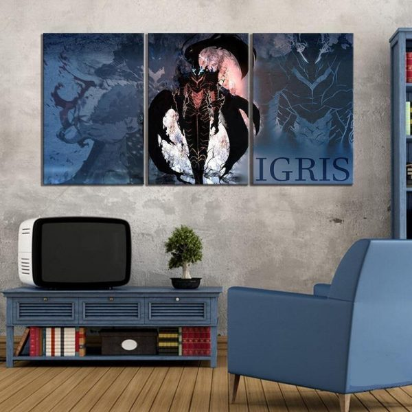 Solo Leveling Igris Elite Knight Wall Art No Frame / S Official Solo Leveling Merch