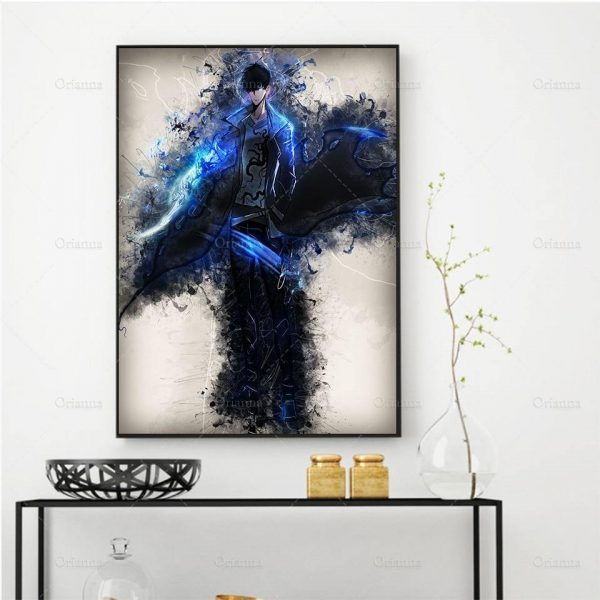 Solo Leveling Poster 10x15cm No Framed / 1 / China Official Solo Leveling Merch