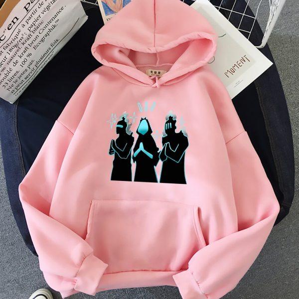 Anime Solo Leveling Hoodie Funny New Fashion Long Sleeves Oversized Crewneck Sweatshirts Streetwear Women Men Couple 11 - Solo Leveling Merch Store