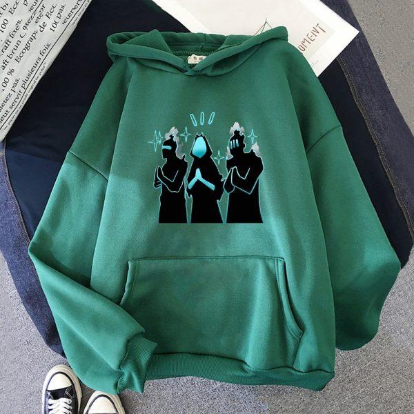 Anime Solo Leveling Hoodie Funny New Fashion Long Sleeves Oversized Crewneck Sweatshirts Streetwear Women Men Couple 7 - Solo Leveling Merch Store