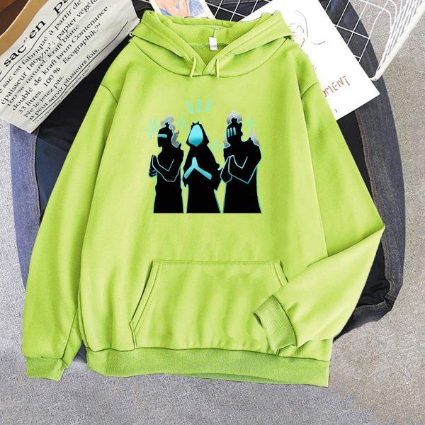 Anime Solo Leveling Hoodie Funny New Fashion Long Sleeves Oversized Crewneck Sweatshirts Streetwear Women Men Couple 8 - Solo Leveling Merch Store