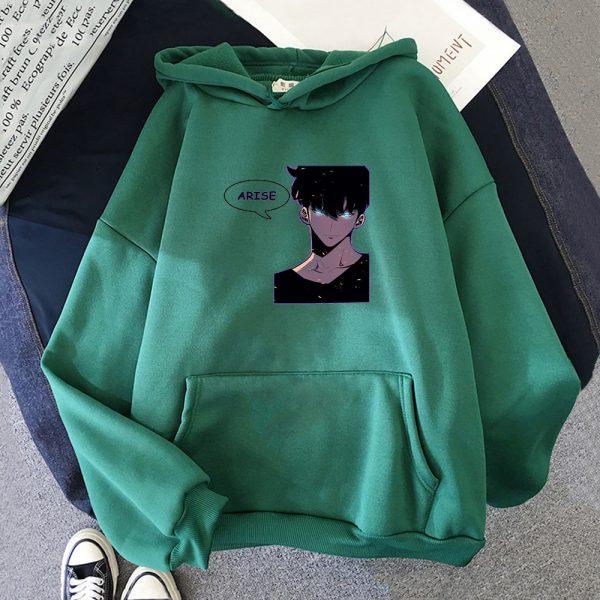 Anime Solo Leveling Hoodie Unisex Pullover Women Men s Tracksuit Harajuku Streetwear 2021 Korean Manga Fashion 2 - Solo Leveling Merch Store