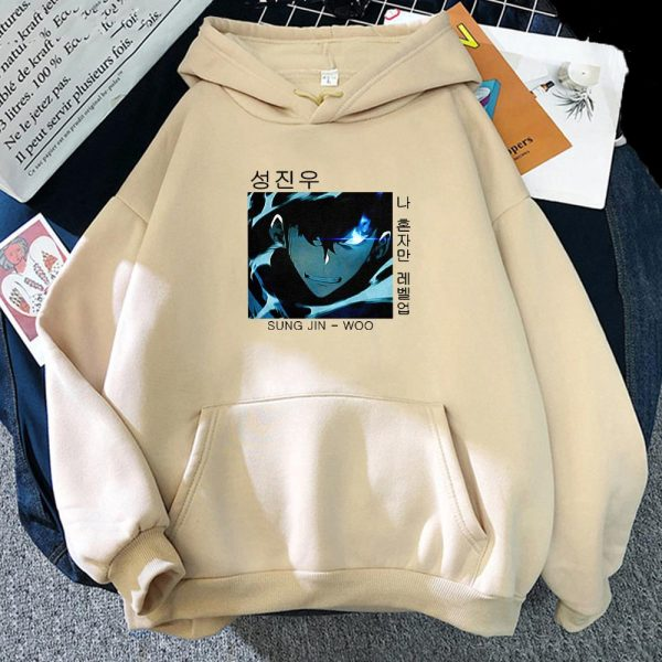 Anime Solo Leveling Hoodie Women Funny Sweatshirts Men Long Sleeve Punk Clothes Japanese Streetwear Spring 10 5 - Solo Leveling Merch Store