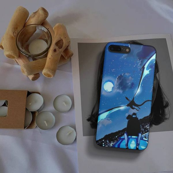 Anime Solo Leveling Sung Jin Woo Phone Case Fundas Shell Cover For Iphone 6 6s 7 3 - Solo Leveling Merch Store