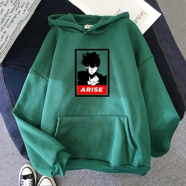 Anime Solo Leveling Sung Jin Woo Printed Hoodies Hot Korean Plus Size Sweatshirt Men women Hoodie 3 - Solo Leveling Merch Store