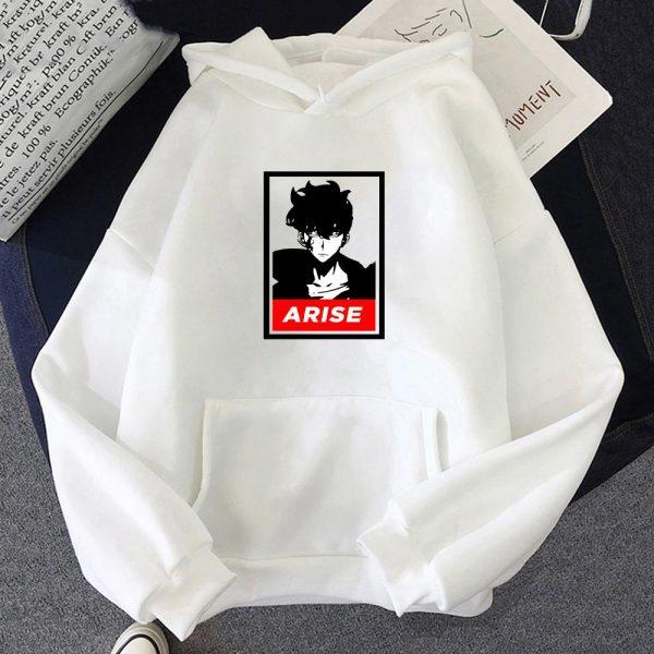 Anime Solo Leveling Sung Jin Woo Printed Hoodies Hot Korean Plus Size Sweatshirt Men women Hoodie - Solo Leveling Merch Store