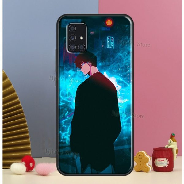 Anime solo leveling Case For Samsung A51 A71 A11 A31 A10 A20 A30S A40 A50 A70 - Solo Leveling Merch Store