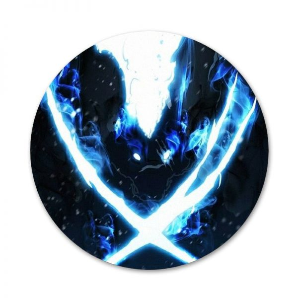 Anime solo leveling Icons Pins Badge Decoration Brooches Metal Badges For Backpack Decoration 4 - Solo Leveling Merch Store